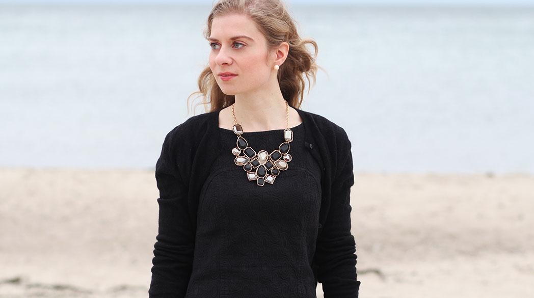 """Daniela Uhrich vom Lady-Blog trägt das """"Kleine Schwarze"""""""