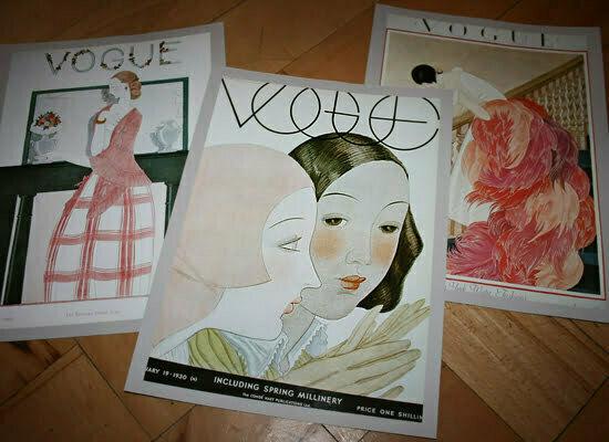 VOGUE-Cover aus dem Jahr 1930 und 1923