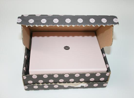 Glossybox Versandkarton