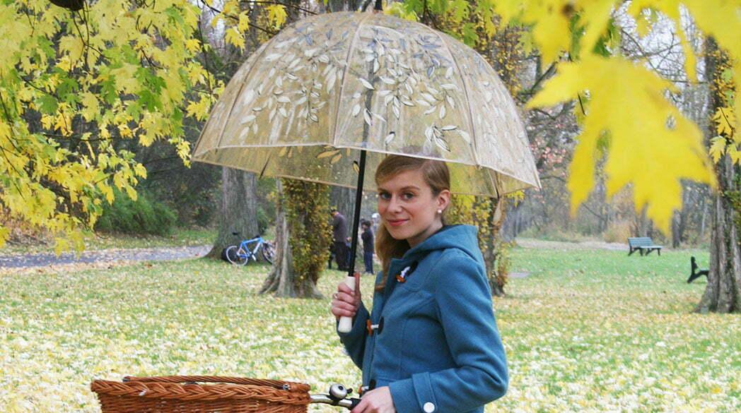 Praktisch und stilvoll: der Regenschirm