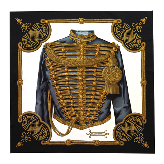 Hermès: Das Originaldesign von Carré 90 Brandenbourg