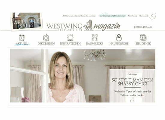 Westwing Wohnen Wie Im Wei En Haus Lady Blog