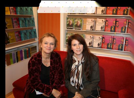 Elke Heidenreich auf der Frankfurter Buchmesse