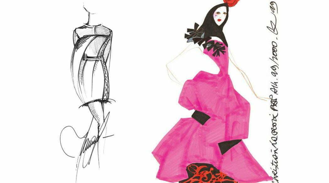 Von Meisterhand – Wenn Modedesigner zeichnen
