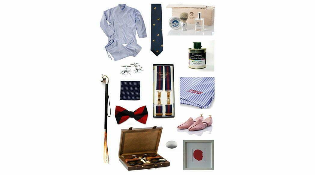 Weihnachtsgeschenke für den Gentleman