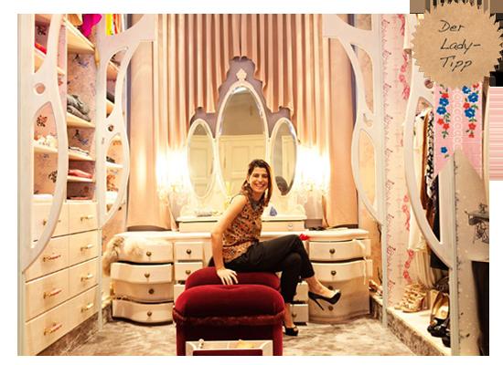 Begehbarer kleiderschrank rosa  Kleine Begehbare Kleiderschränke: Rosa wände begehbarer ...