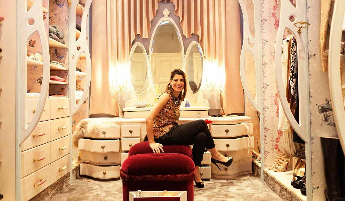 Zuhause bei Dorothee Schumacher