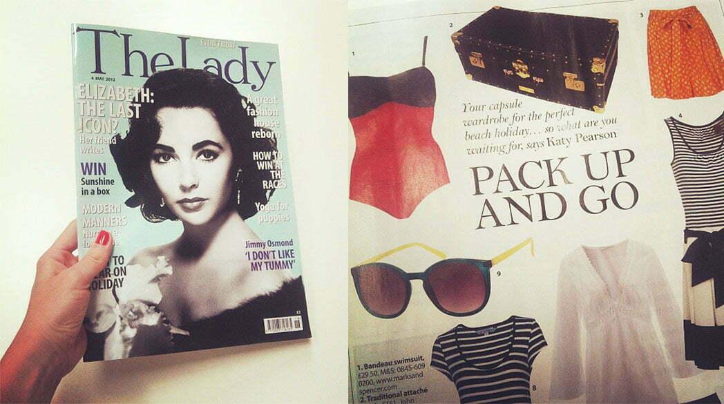 In meinem Briefkasten: The Lady Magazine