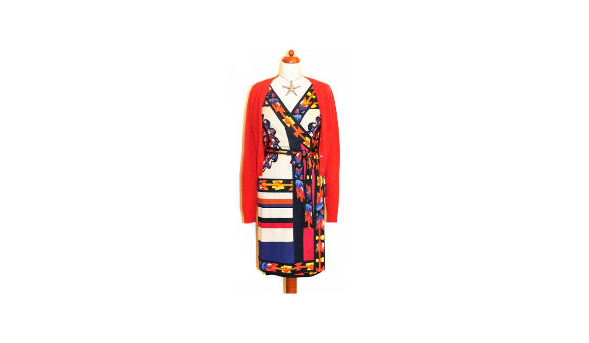 Das Wickelkleid von Diane von Fürstenberg