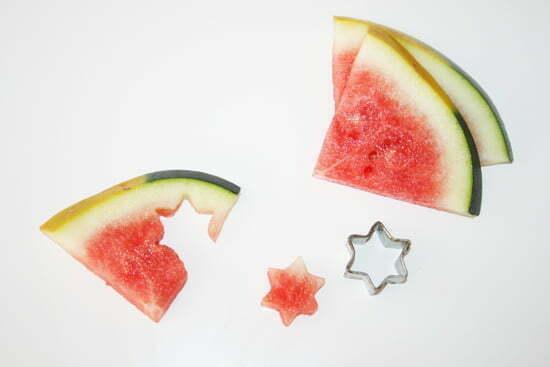 Rezept für Sternchen-Melonensalat