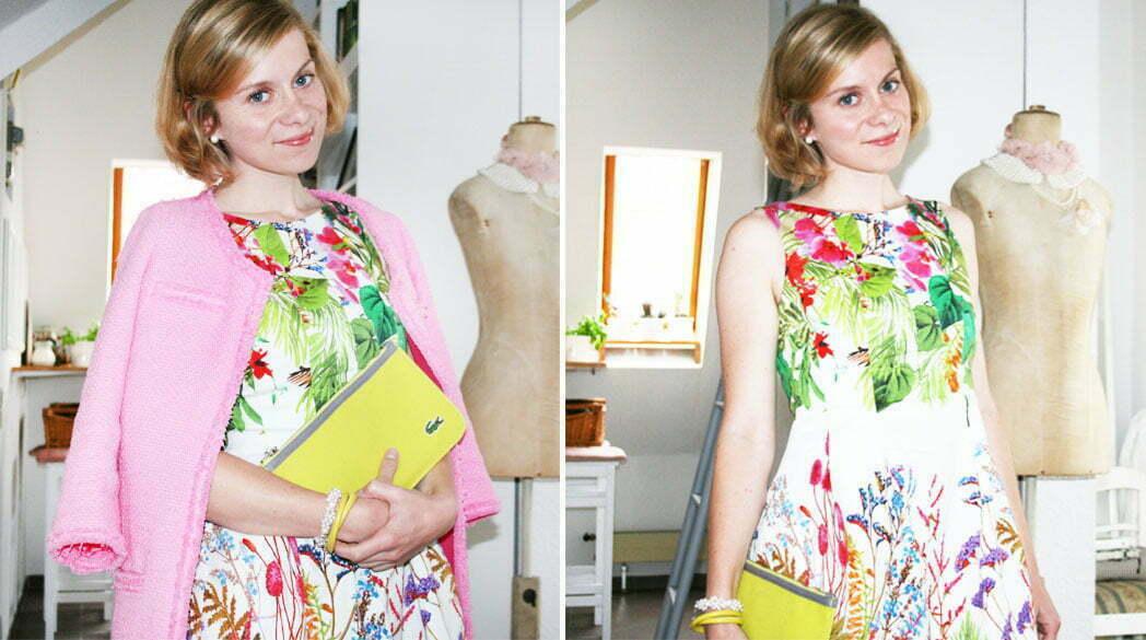 Der Lady-Blog liebt: Blumenkleidchen von Zara