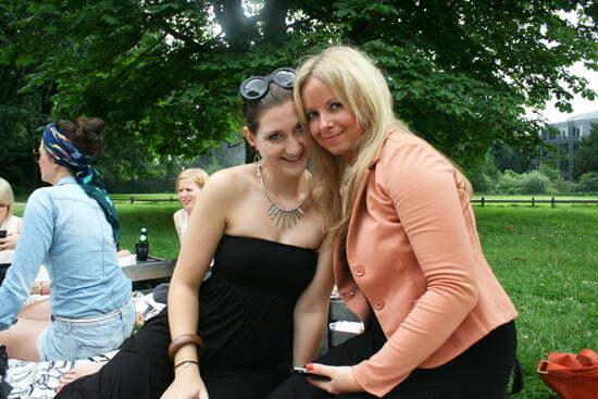 Blogger-Picknick mit Dorothee Schumacher