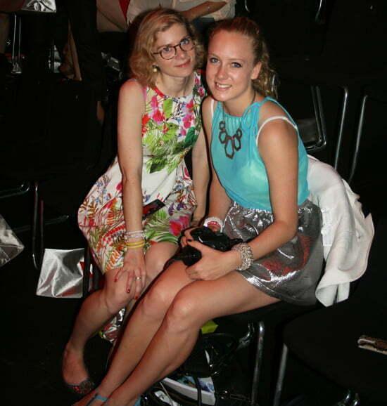 fashion week berlin front row
