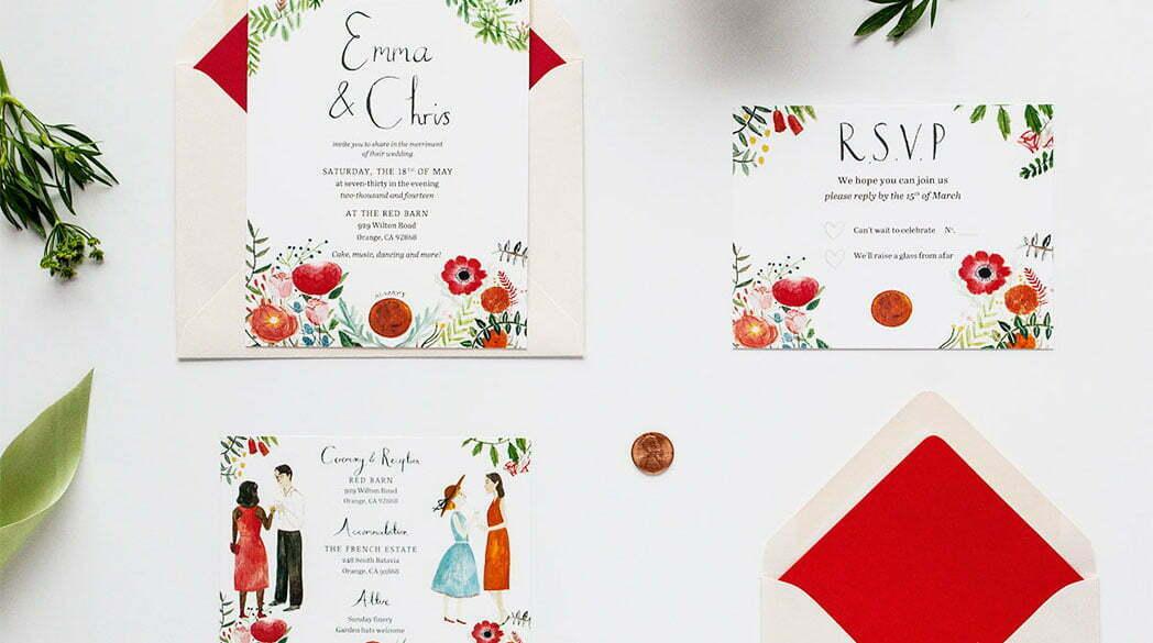 Hochzeitskarten von Jolly Edition