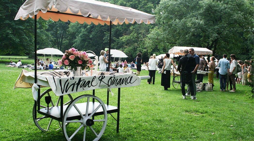 Virtuell Romance: Blogger-Picknick mit Dorothee Schumacher