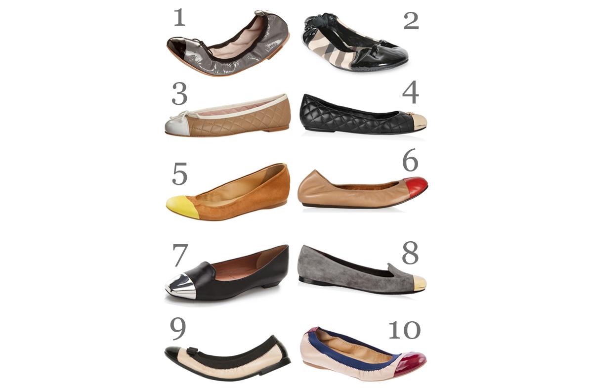 Der Lady-Trend: Toe Cap Schuhe