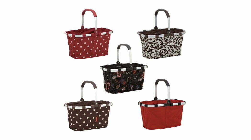 Carrybag von Reisenthel: Einkaufskorb mit Pünktchen