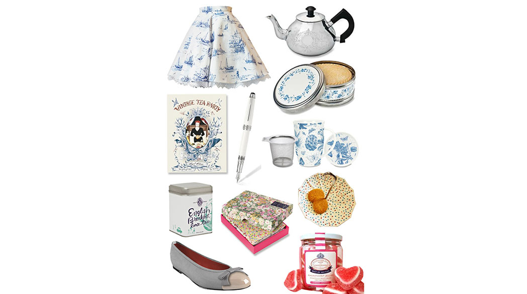 Schönes & Köstliches für die Tea-Time-Party