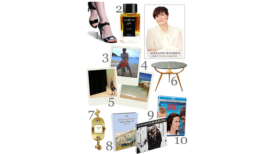 Die Love-List von Stefanie Hanssen, Gründerin von Frau Tonis Parfum