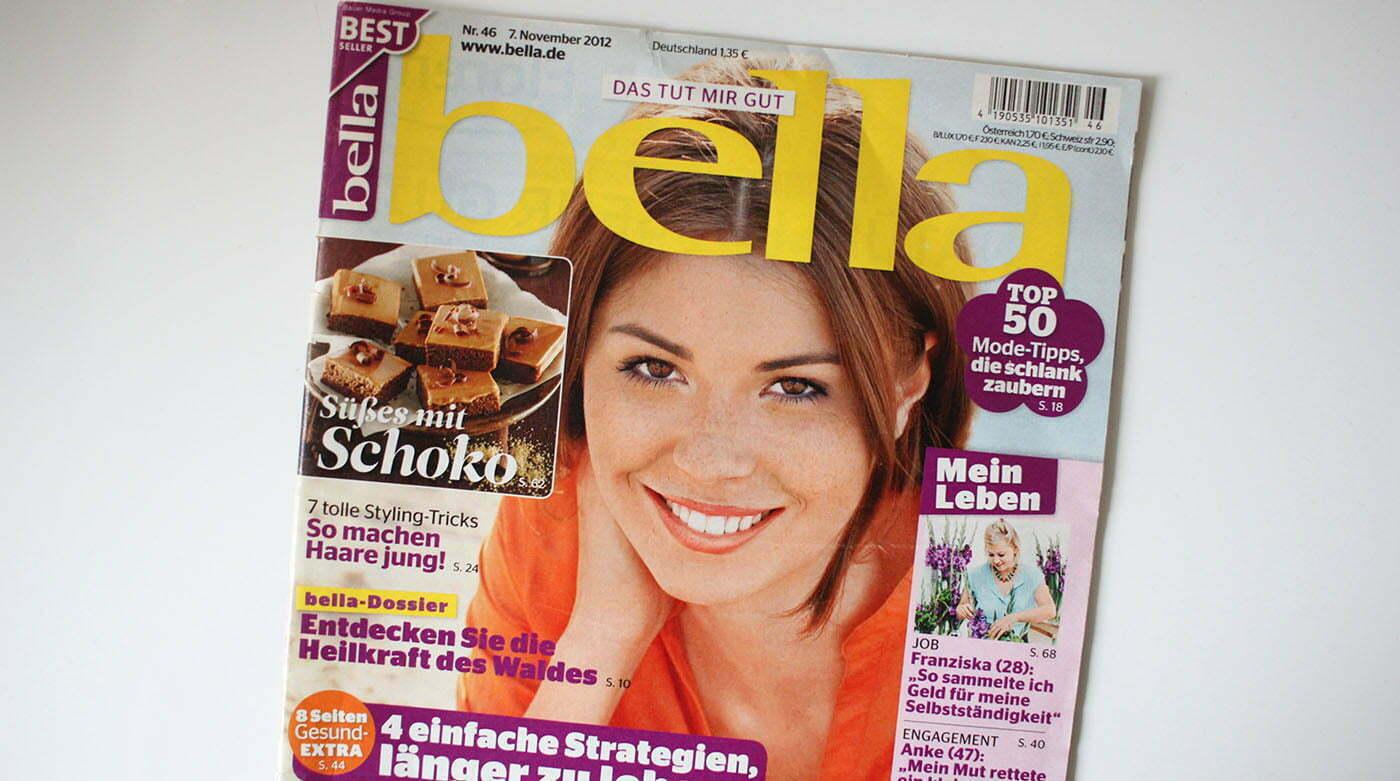 In der Presse: Der Lady-Blog in der aktuellen bella