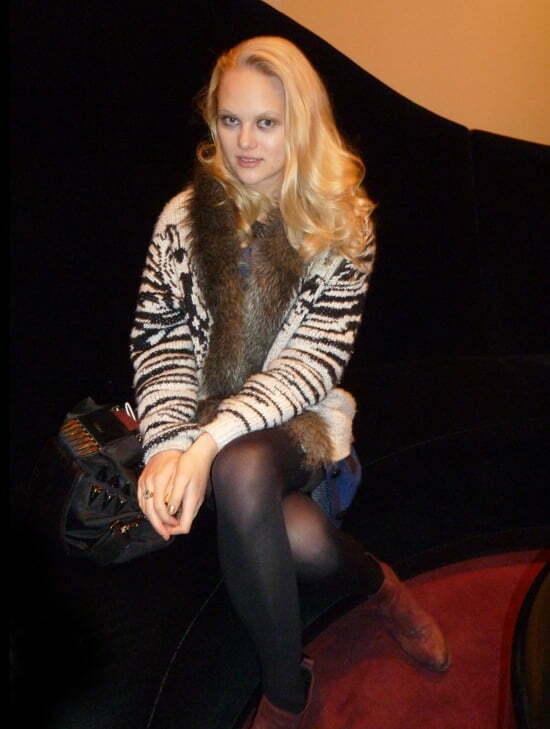 Modell Anne Sophie Monrad
