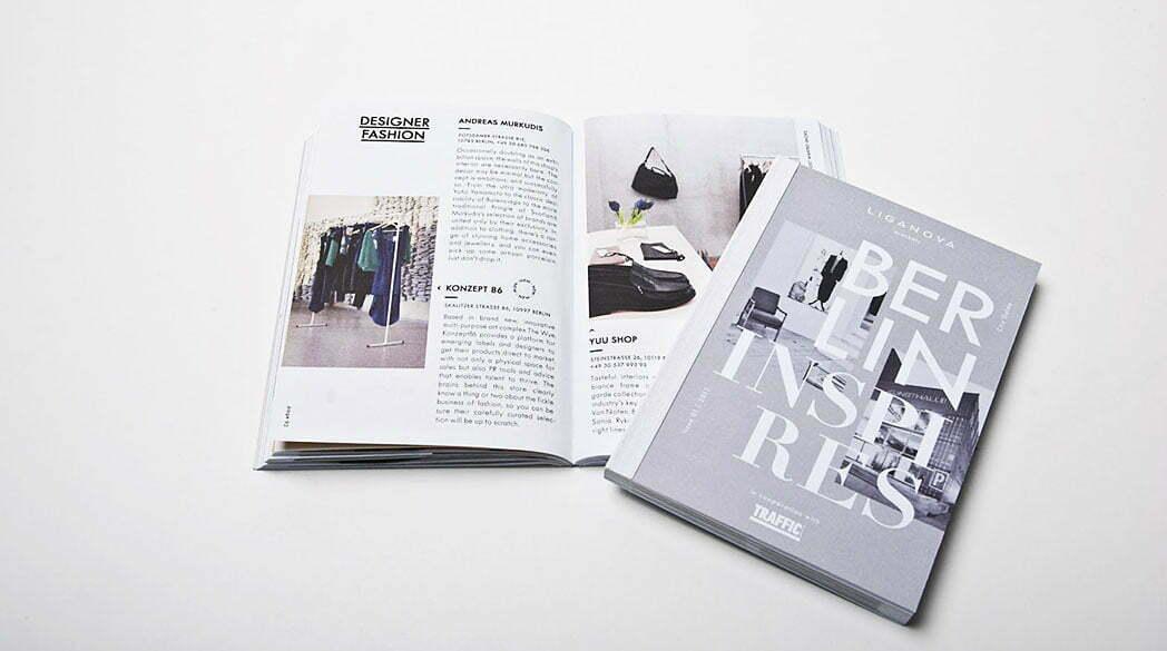 """Liganova """"Berlin inspires"""" Guide"""