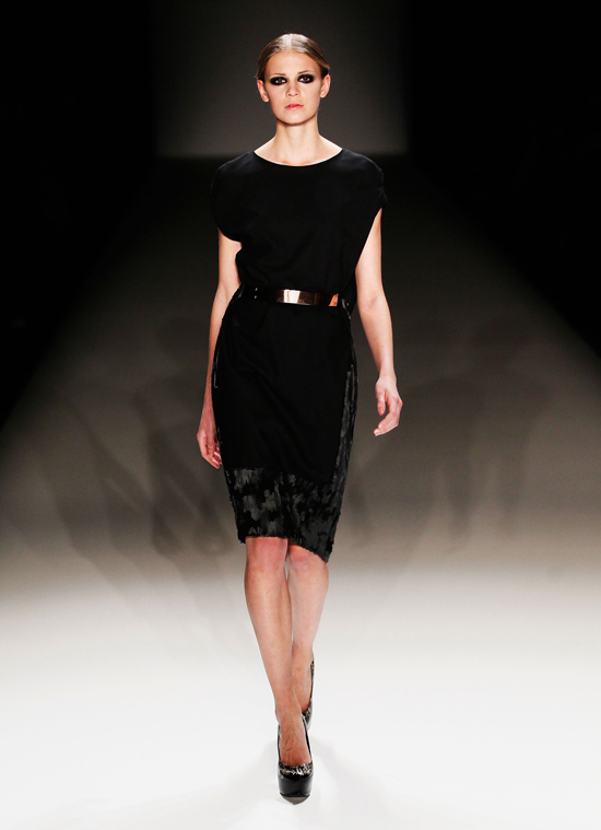 Dawid Tomaszewski Show - Mercedes-Benz Fashion Week Autumn/Winter 2013/14