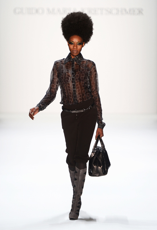 Guido Maria Kretschmer Show - Mercedes-Benz Fashion Week Autumn/Winter 2013/14