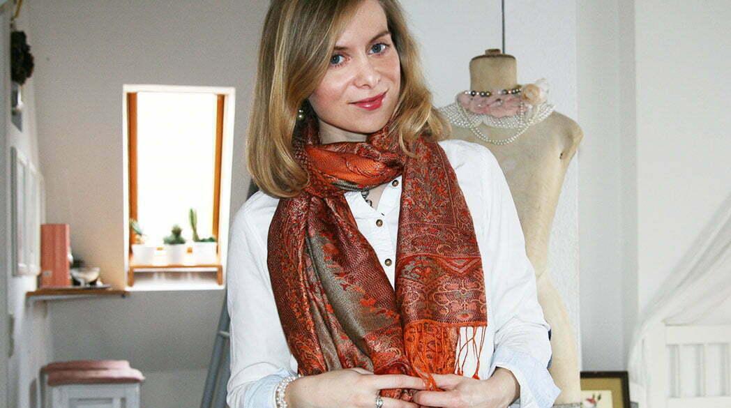 Der Lady-Blog liebt: Schal von Padmera