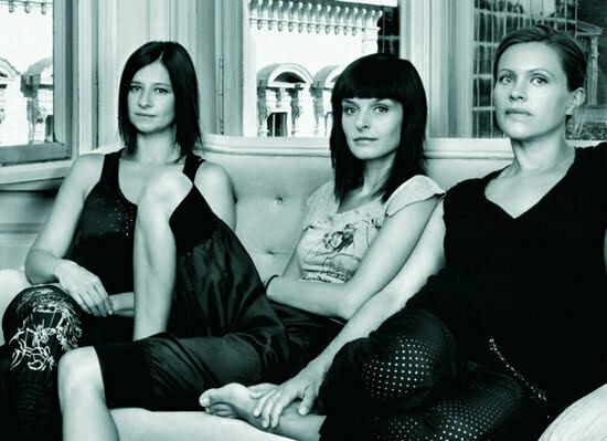 Katalin Stampf, Katrin Imre und Nora Racz vom Label ARTISTA