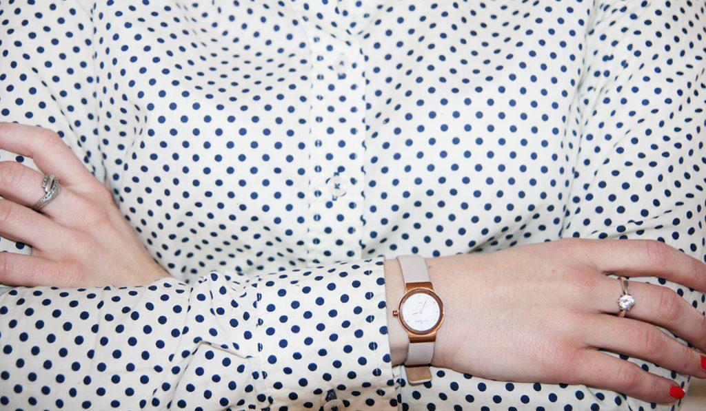 Der Lady-Blog liebt: Damenuhr von Skagen