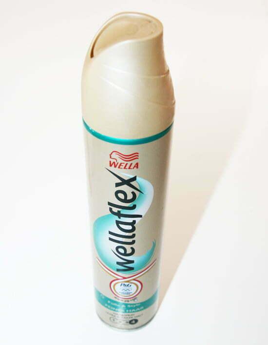 Kosmetik-Check: Sehr schlecht schnitt mein Haarspray von Wella ab