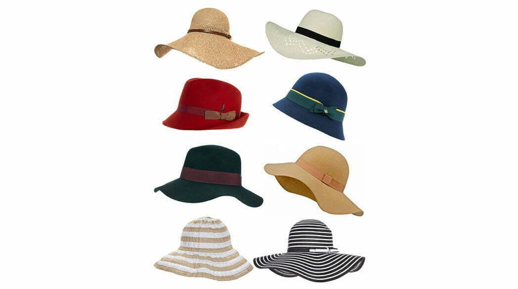 Hut-Arten auf dem Lady-Blog