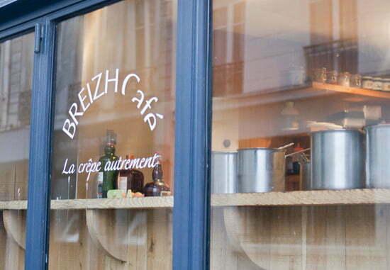 Das Café BREIZH: Die besten Crepes in Paris