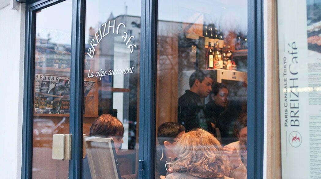Lovely Places: Das Café BREIZH in Paris