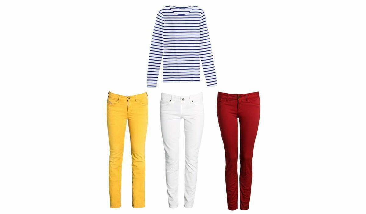 Shopping mit Dani: Farbenfrohe Hosen