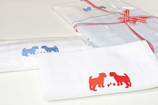 Petit Filou: Klassische Kinderprodukte mit Scherenschnittmotiven