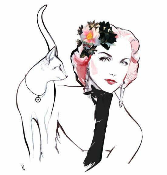 Blumen-Haarschmuck von miss lillys hats