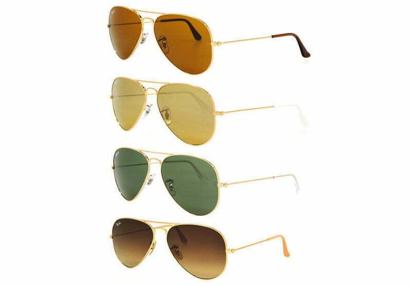 Der Sonnenbrillen-Klassiker: Die Aviator von Ray Ban