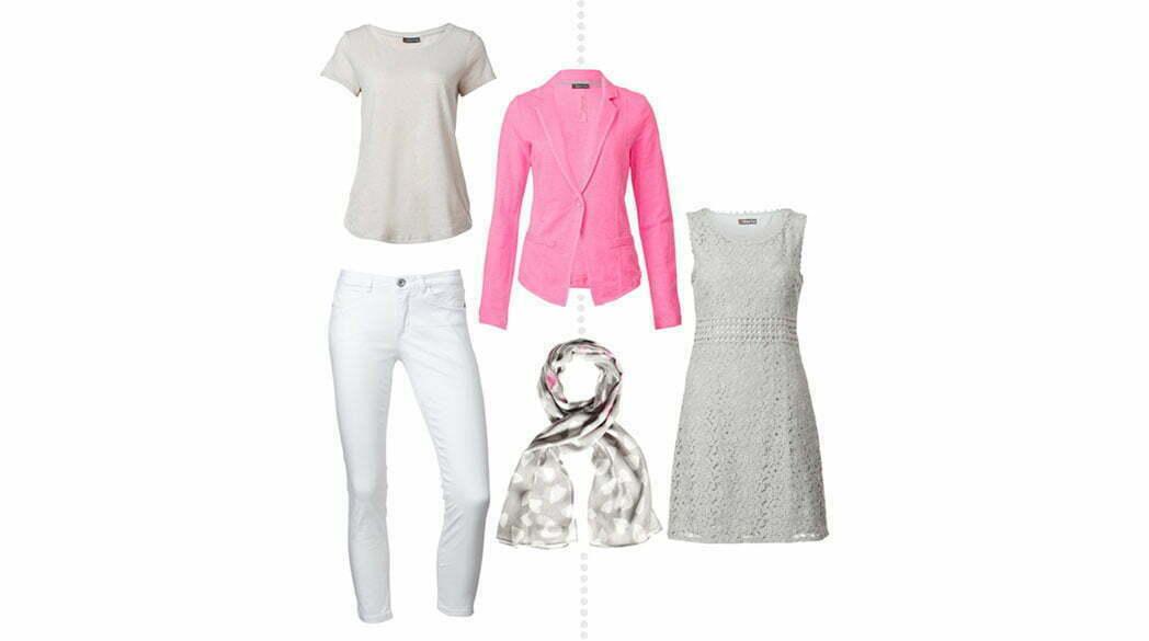 Shopping mit Dani: Pink, Grau & Weiß bei Street One