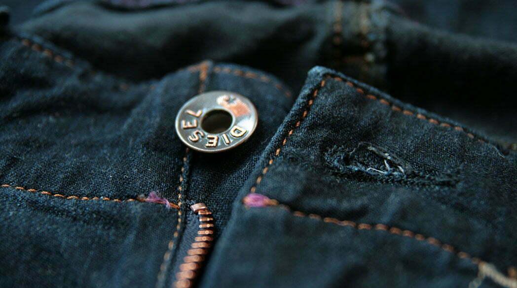 Bloß nicht kaufen: Dunkelblaue Jeans von Diesel