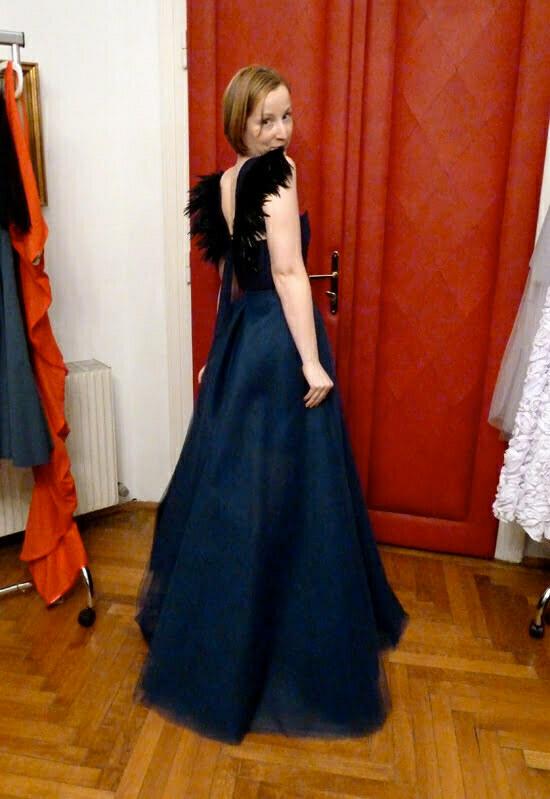 Abendkleid von Magdalena Adriane