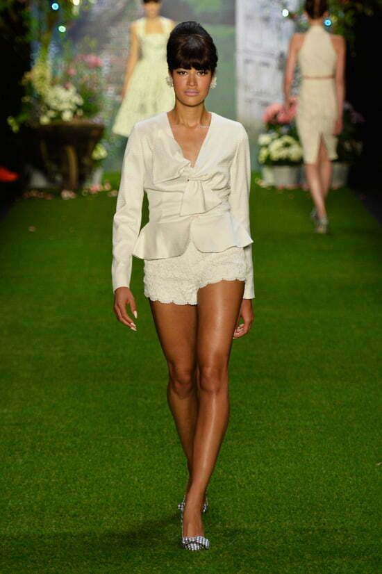 Lena Hoschek Show - Mercedes-Benz Fashion Week Spring/Summer 2014