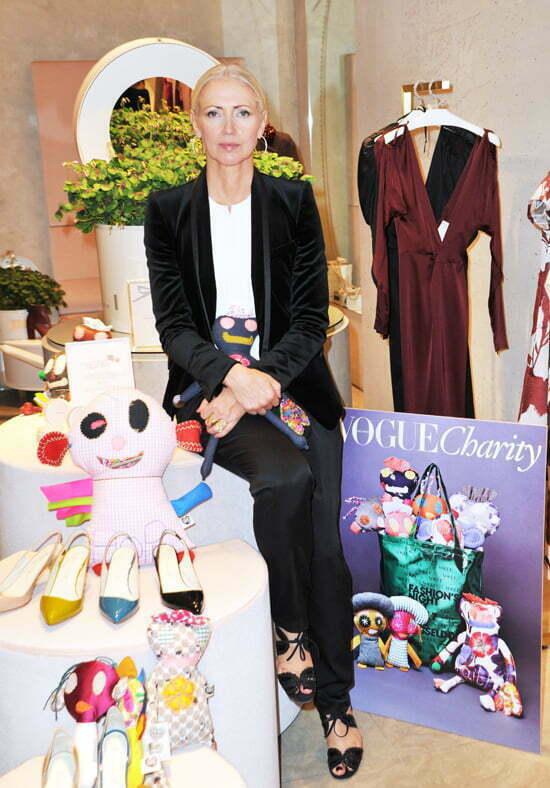 VOGUE Fashion's Night Out: Chefredakteurin Christiane Arp