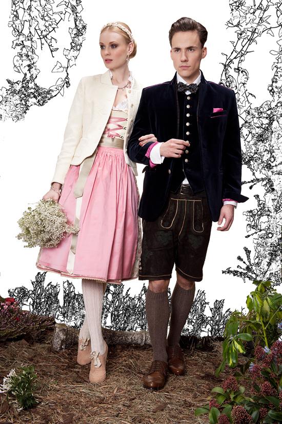 Hochzeitsdirndl von Amsel