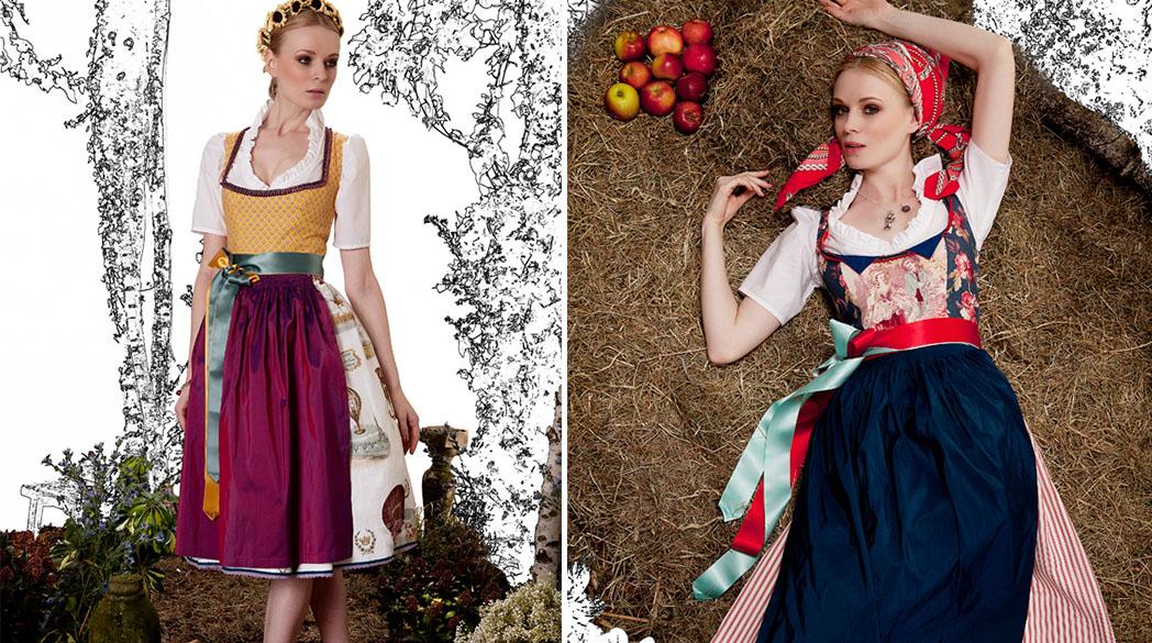 Nostalgie-Dirndl von Amsel Fashion