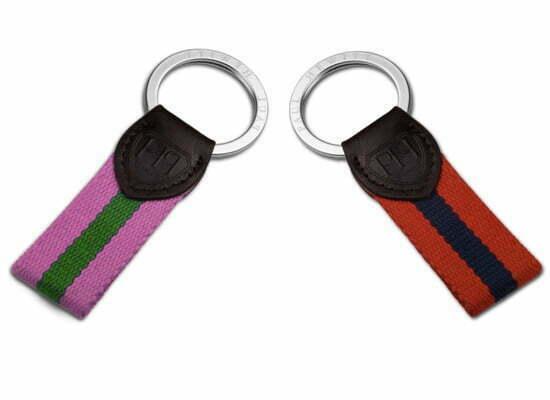 Preppy Style: Schlüsselanhänger von Paul Hewitt