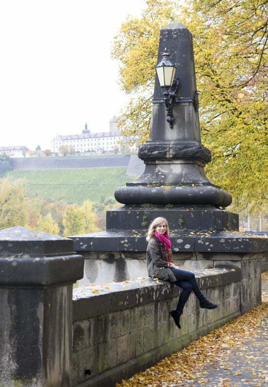Bloggerin Daniela Uhrich in Würzburg