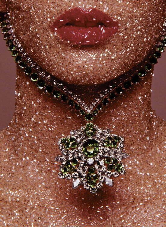 .Guy Bourdin für die Dezember-Ausgabe der Vogue 1969
