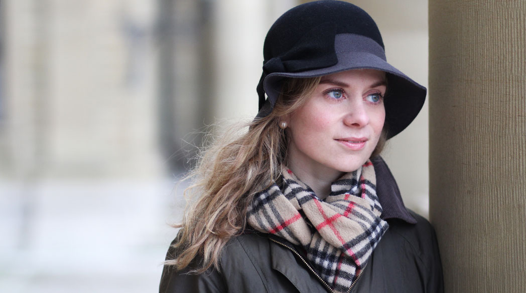 Outfitpost: Bloggertreffen mit Gummistiefel & Barbourjacke